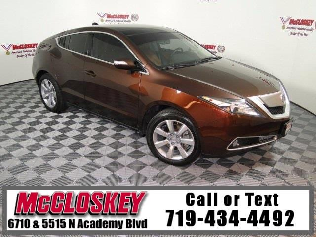 2010 Acura ZDX Base Tech Package!