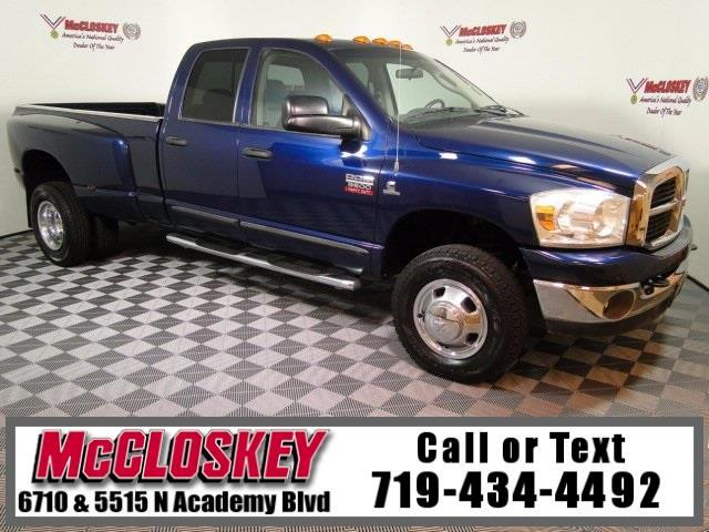 2007 Dodge Ram 3500 SLT Rare 6 Speed manual!