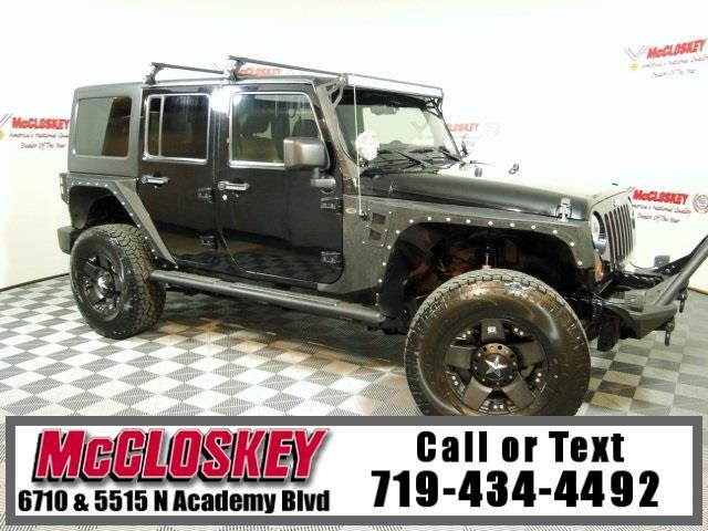 2011 Jeep Wrangler Unlimited Rubicon Lifted 4x4!