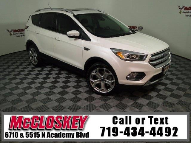 2017 Ford Escape Titanium 4x4 w/ Navigation
