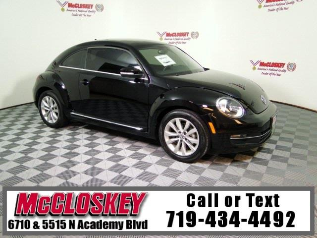 2015 Volkswagen Beetle 2.0 TDI w/ Leather