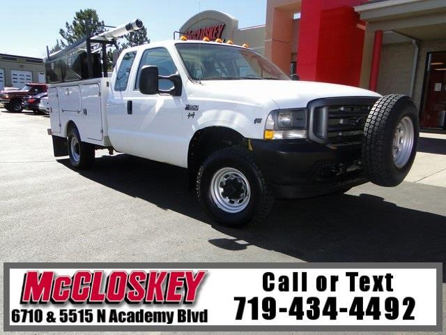 2004 Ford F-350 SD XL 4X4 W/ Utility Bed