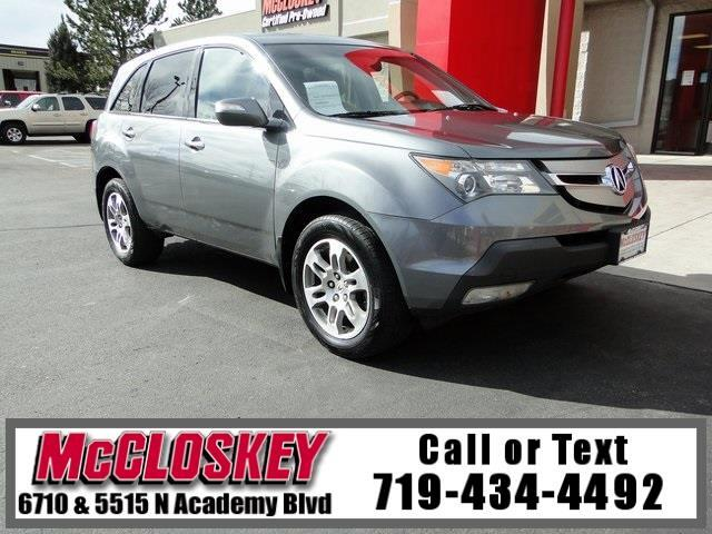 2008 Acura MDX Technology All Wheel Drive
