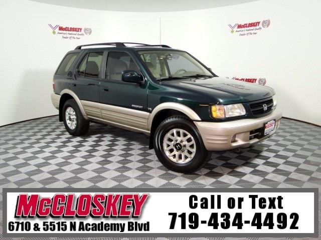 2002 Honda Passport LX 4x4 W/ Moon Roof