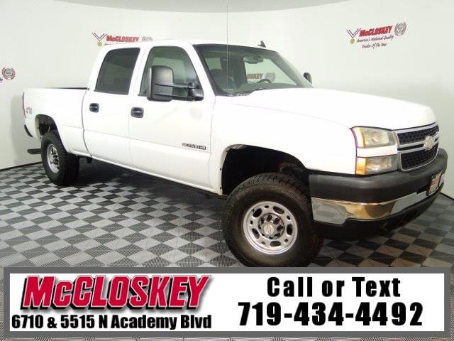 2007 Chevrolet Silverado Classic 2500HD LT 4X4 One Owner