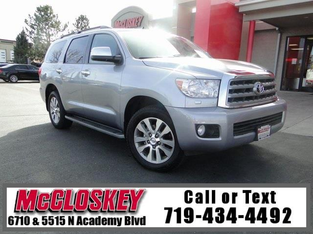 2011 Toyota Sequoia Limited 8 Passenger Seating