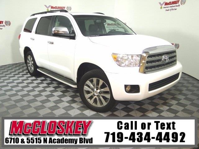 2016 Toyota Sequoia Limited 8 Passenger Seating, Low Miles