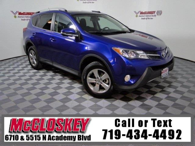 2015 Toyota RAV4 XLE AWD One Owner!