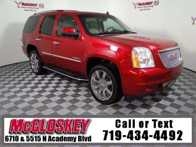 2013 GMC Yukon Denali Denali AWD w/ Navigation and  DVD