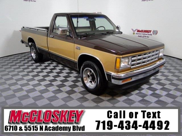 1985 Chevrolet S10 Base Fleetside