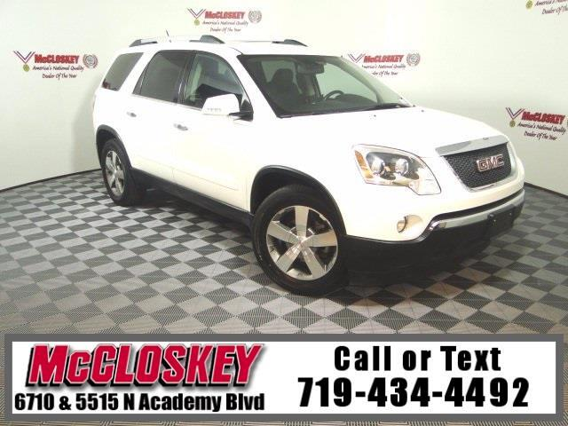 2012 GMC Acadia SLT-1 AWD BOSE Third Row