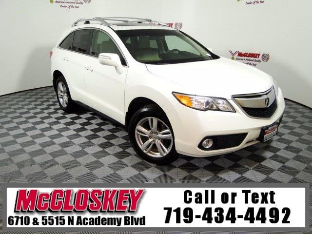 2014 Acura RDX Technology Package One Owner AWD