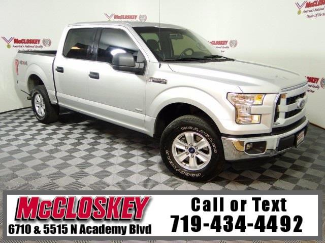 2015 Ford F-150 XLT SuperCrew 4x4 Low Miles
