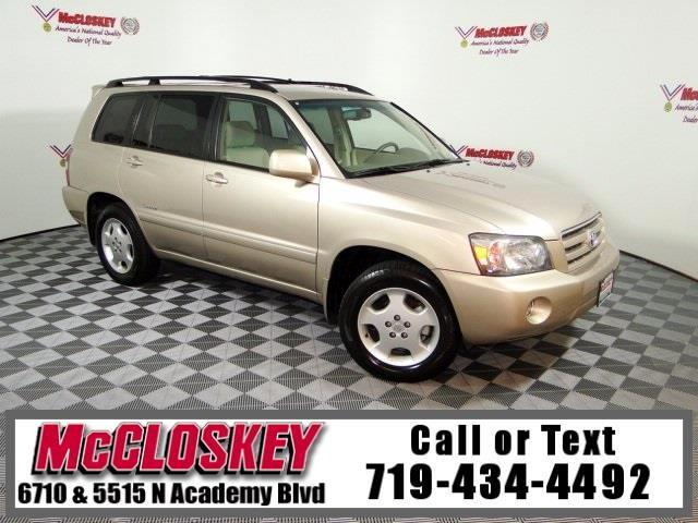 2007 Toyota Highlander Limited Third Row