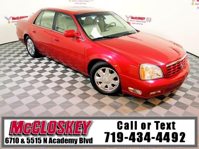 2004 Cadillac DeVille DTS Low miles Loaded!