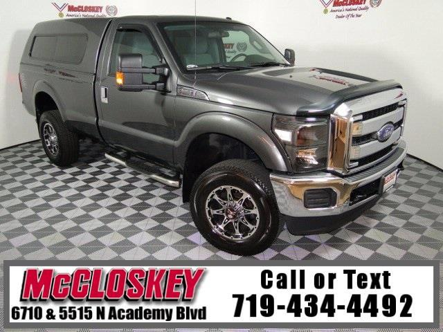 2015 Ford F-250 SD XLT Long Bed 4x4!