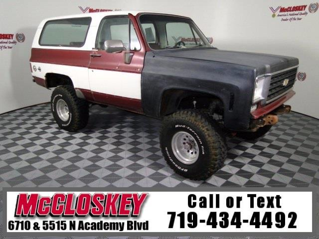 1975 Chevrolet Blazer 4x4 Off Road Ready!