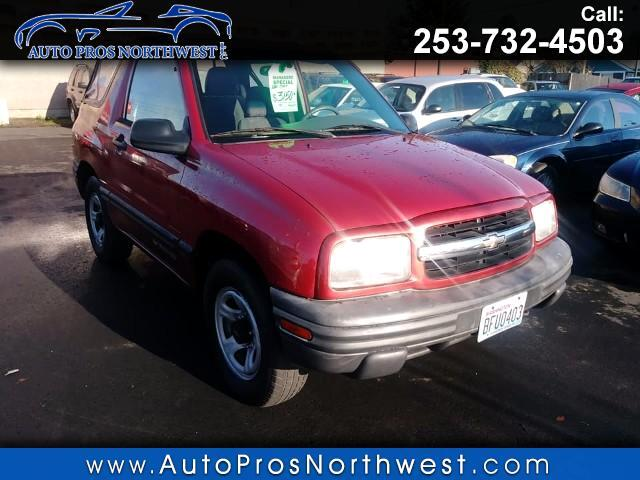 2001 Chevrolet Tracker 2-Door 2WD