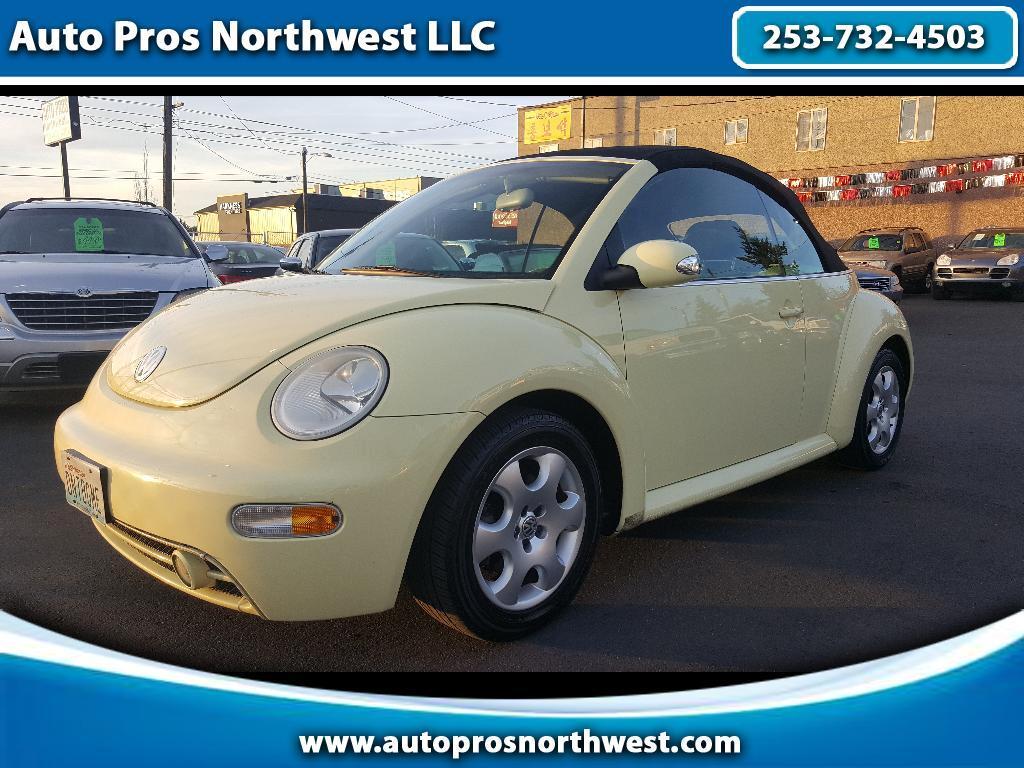 2003 Volkswagen Beetle 2.0T S Convertible