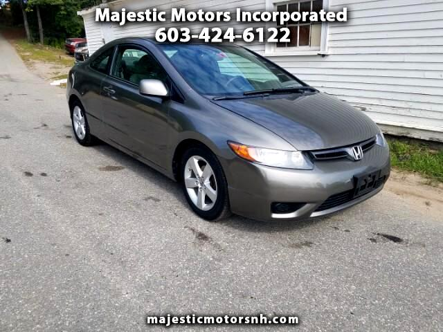 2008 Honda Civic EX Coupe 5-Speed AT
