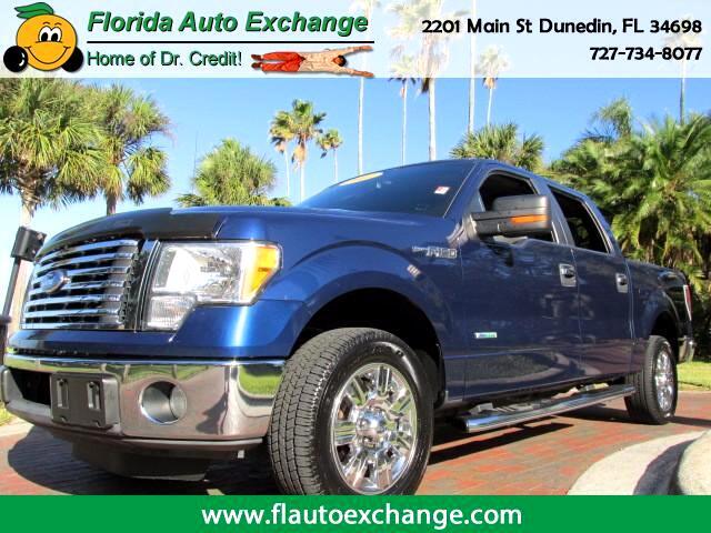 "2011 Ford F-150 2WD SuperCrew 145"" XLT"