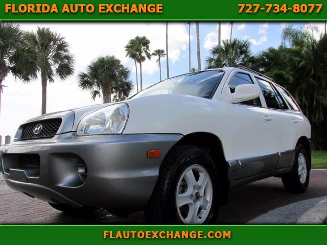 2003 Hyundai Santa Fe 4DR 2WD AUTO 2.4L I4