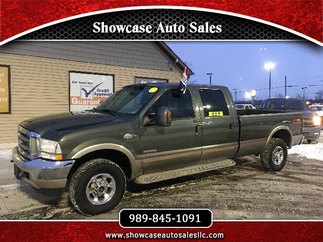 2004 Ford F-250 SD King Ranch Crew Cab Long Bed 4WD