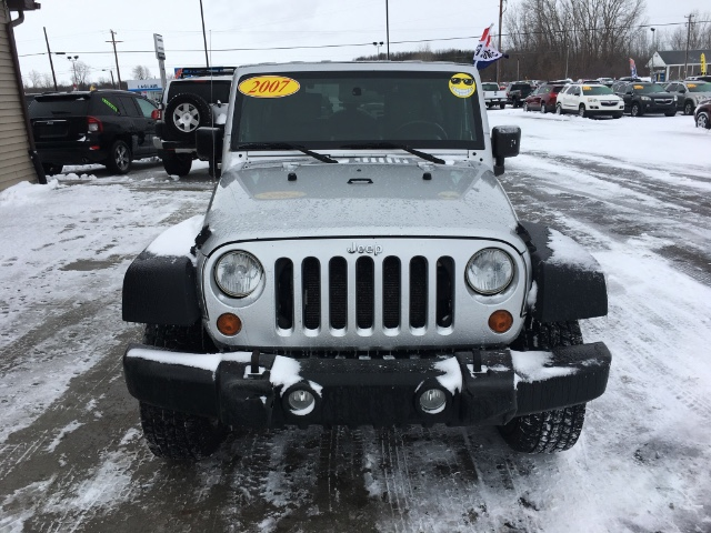 2007 Jeep Wrangler Unlimited X 4WD