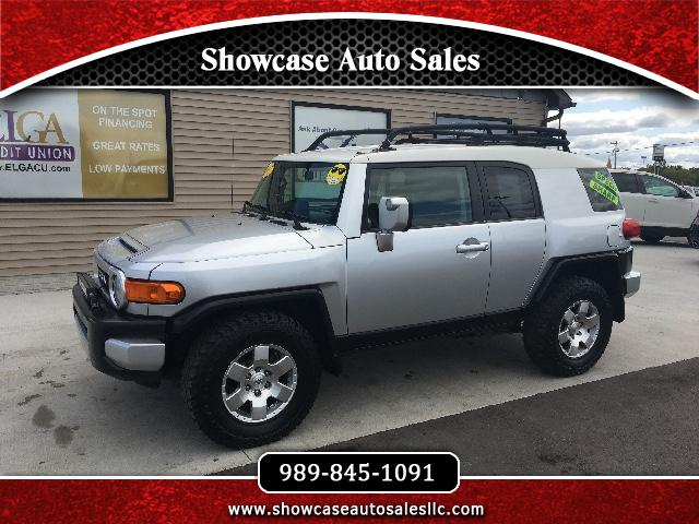 used 2007 toyota fj cruiser 4wd at for sale in chesaning mi 48616 showcase auto sales. Black Bedroom Furniture Sets. Home Design Ideas