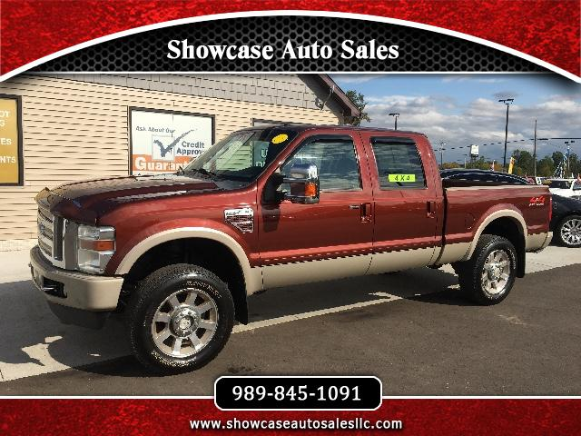 2008 Ford F-350 SD King Ranch Crew Cab 6.5 ft Bed 4WD