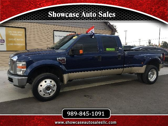 2008 Ford F-450 SD Lariat Crew Cab Long Bed DRW 4WD