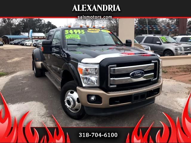 2012 Ford F-350 SD King Ranch Crew Cab Long Bed 4WD
