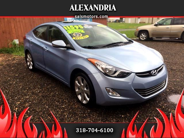 2013 Hyundai Elantra Limited 4-Door