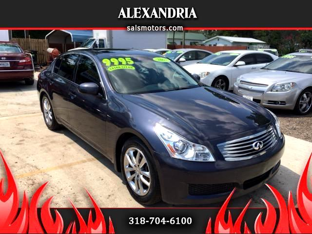 2007 Infiniti G35 Sedan with Leather