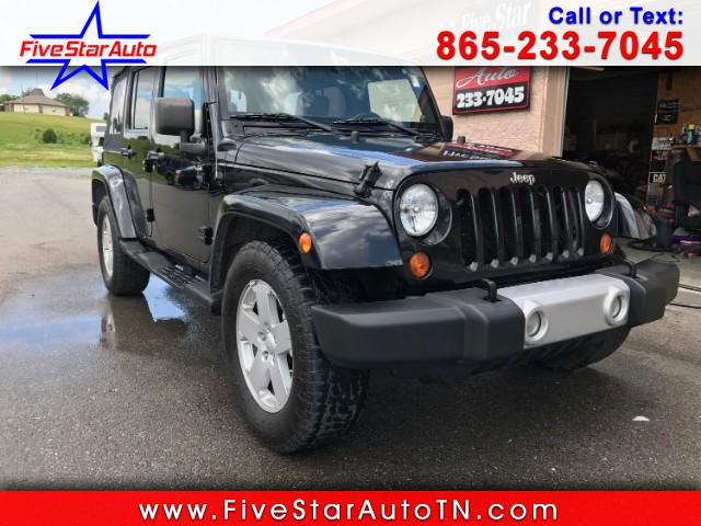 2008 Jeep Wrangler Unlimited Sahara 2WD