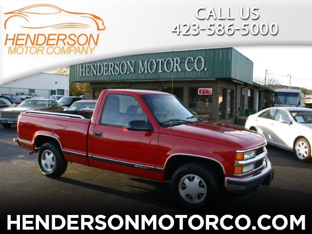 1997 Chevrolet C/K 1500 Reg. Cab W/T 6.5-ft. bed 2WD