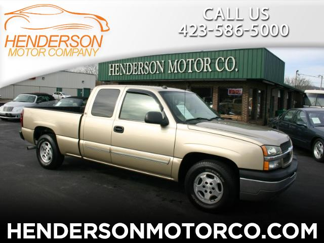 2004 Chevrolet Silverado 1500 LS Ext. Cab Short Bed 2WD