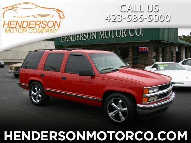 1999 Chevrolet Tahoe LT 4 Door