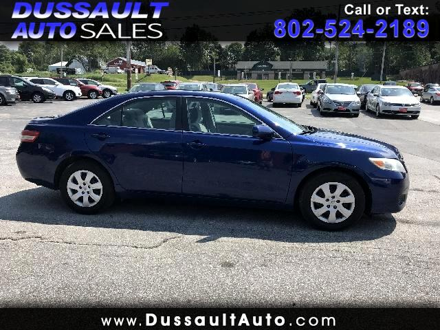 2011 Toyota Camry Base 6-Spd MT