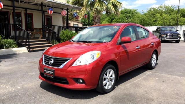 2012 Nissan Versa 1.6 S Sedan