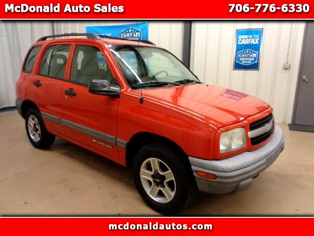 2002 Chevrolet Tracker 4-Door Hardtop 2WD