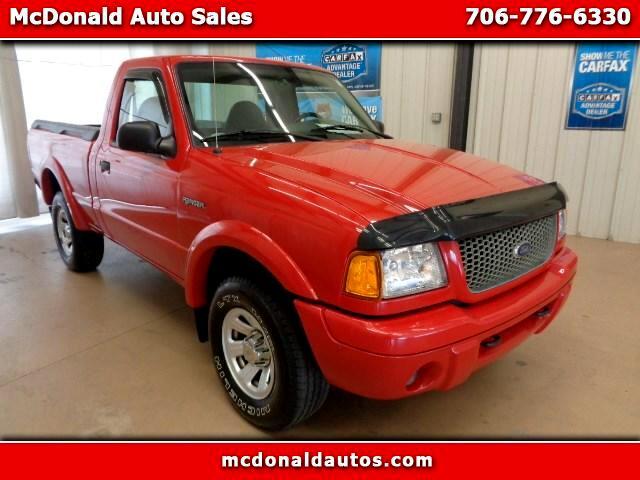 2001 Ford Ranger XL 3.0 2WD