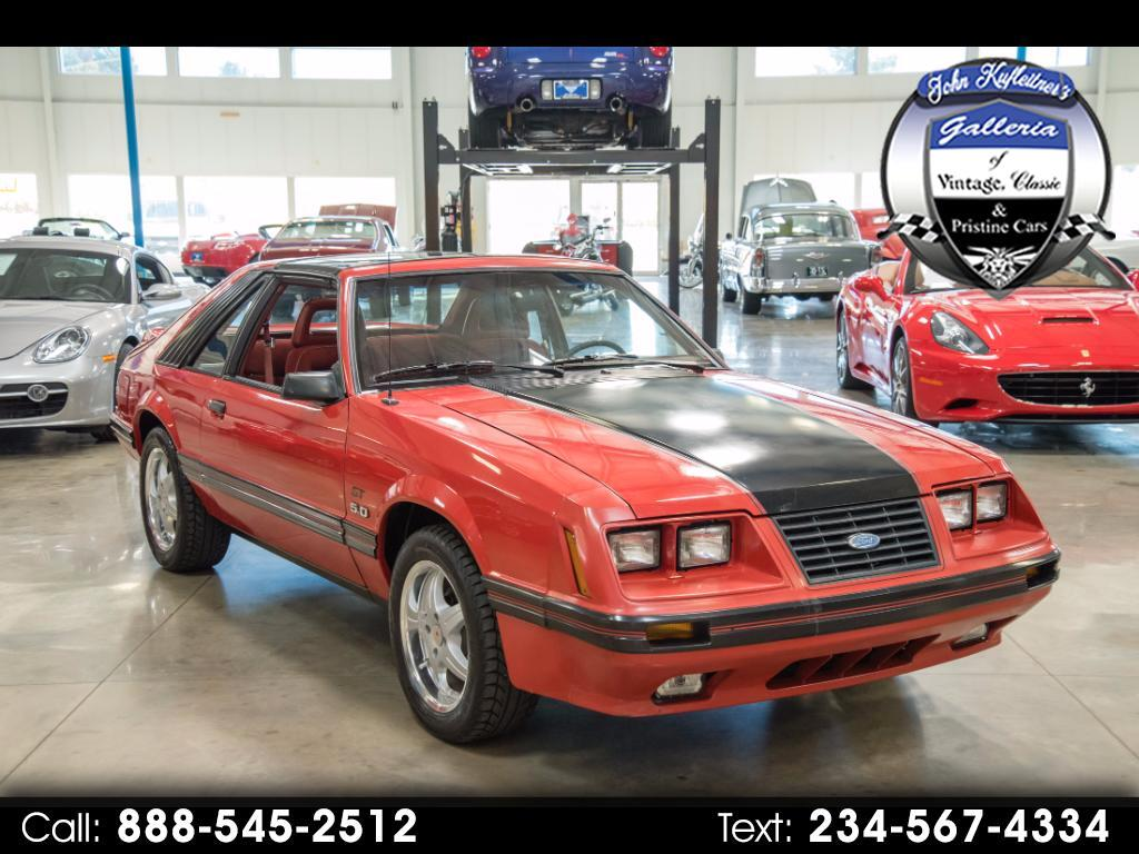1984 Ford Mustang 2dr Fastback GT