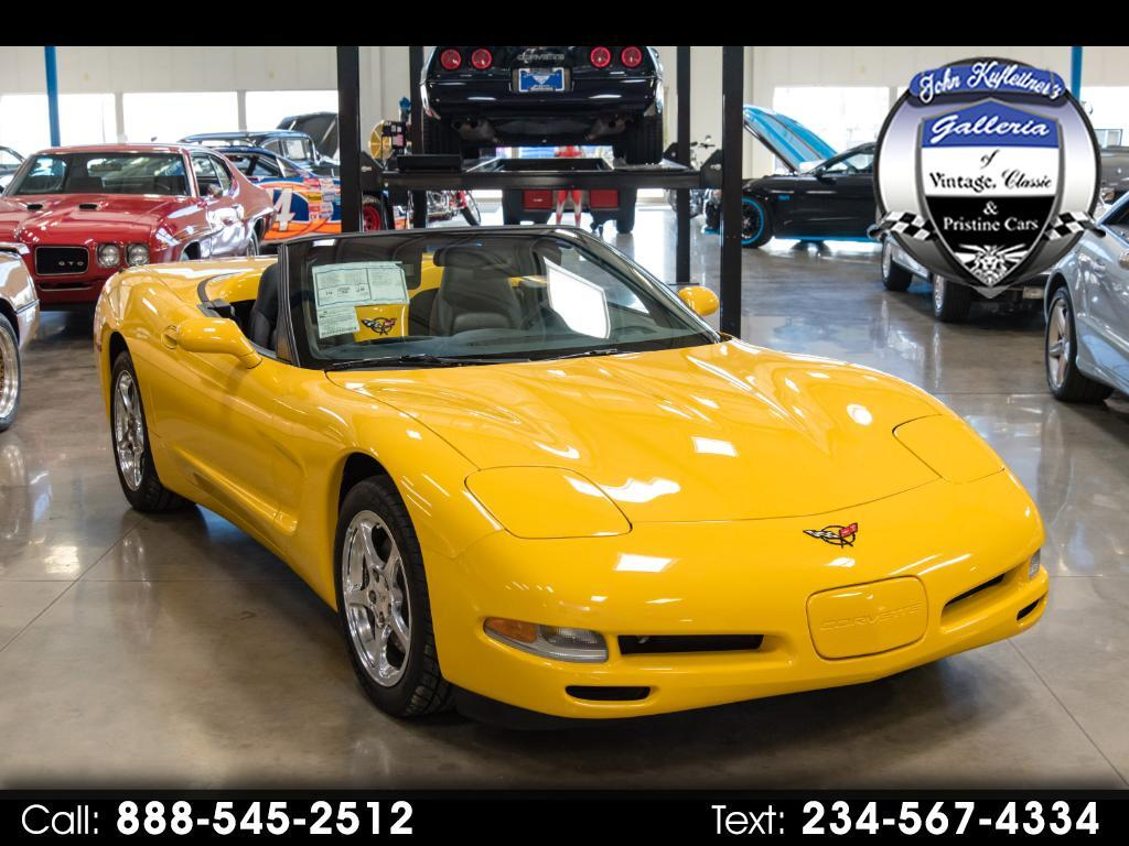 2002 Chevrolet Corvette 2dr Convertible