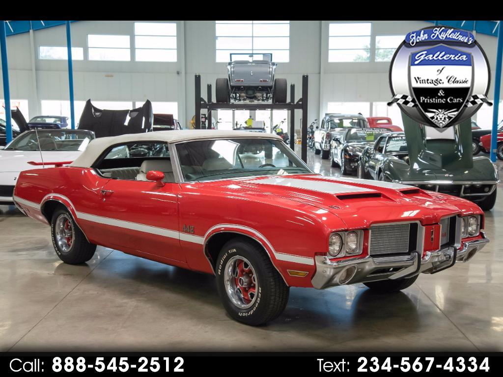 1972 Oldsmobile Cutlass Supreme 442