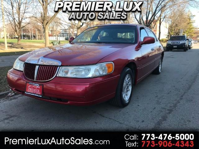 1998 Lincoln TOWN CAR S
