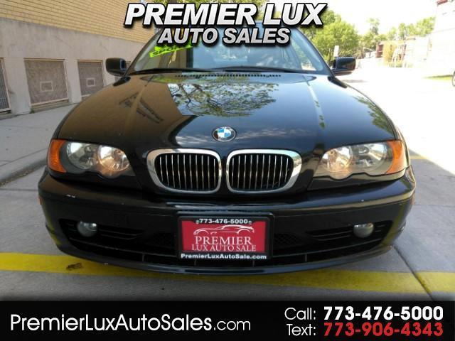 2001 BMW 3-Series 325Ci coupe