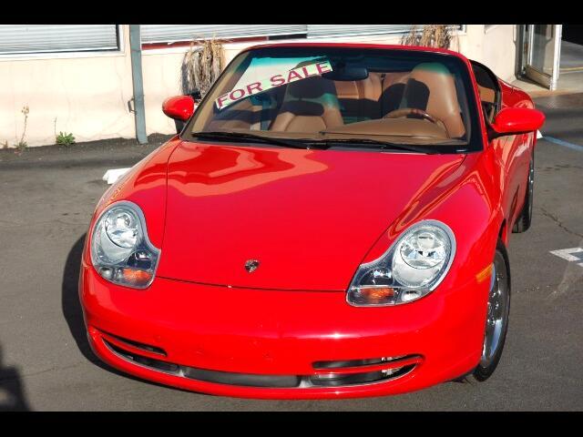 2001 Porsche 911 2dr Cabriolet Carrera 4