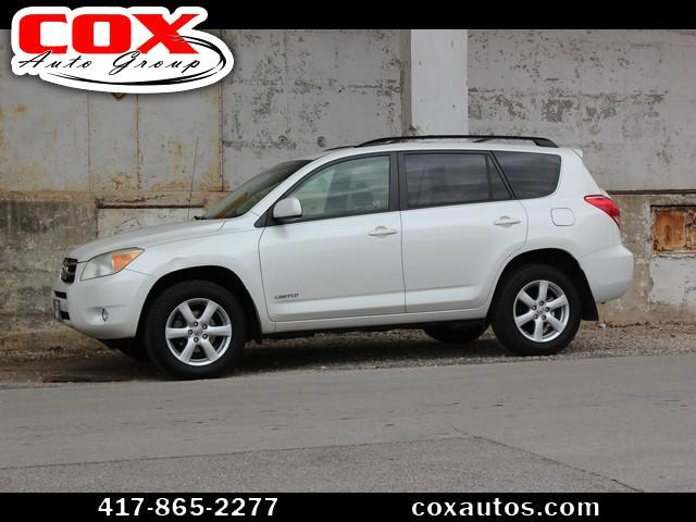 2008 Toyota RAV4 Limited I4 4WD with 3rd Row
