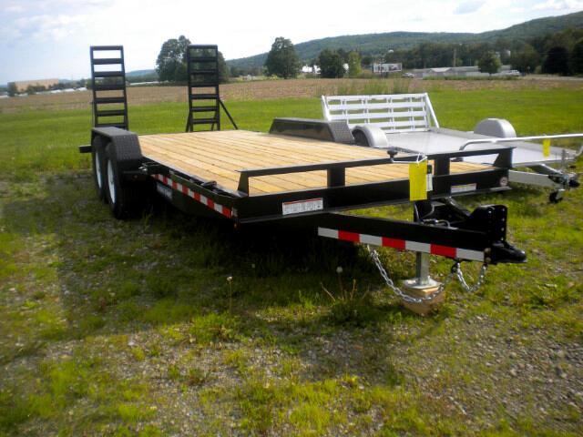 2018 Sure-Trac Implement Equipment Trailer ST8116IT-B-100  7X16 10K